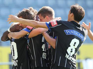 Der SK Sturm Graz bejubelte den ersten Bundesliga-Treffer vom neuen Kapitän Christian Schulz