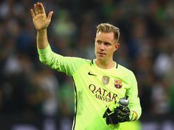 Marc-André ter Stegen vom FC Barcelona hat sich als fairer Sportsmann erwiesen