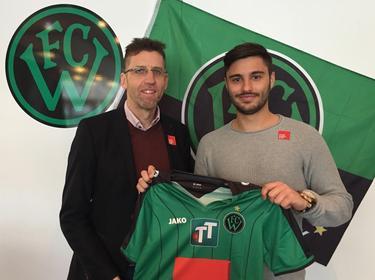 Ante Roguljić wechselt als Kooperationsspieler zu Wacker Innsbruck. Fotocredit: FCW