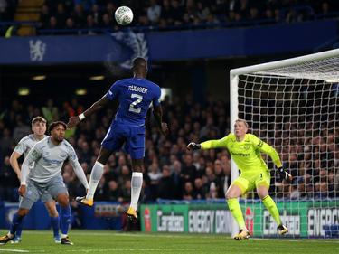 Antonio Rüdiger erzielte das 1:0 für Chelsea per Kopf