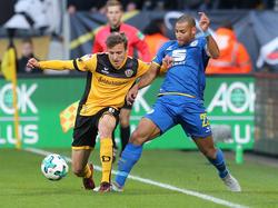 Dynamo Dresden und Eintracht Braunschweig trennten sich mit 1:1