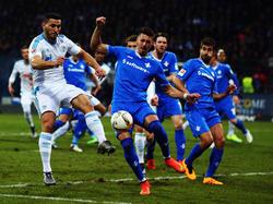 Schalke musste gegen Darmstadt alles in die Waagschale werfen