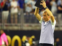 Jürgen Klinsmann will mit den USA das Spiel um Platz drei gewinnen