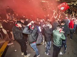 Unter anderem wegen solcher Vorkommnisse in den Relegationsspielen gegen Nürnberg wurde Frankfurt bestraft
