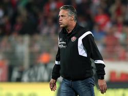 Bleibt Dynamo Dresden erhalten: Uwe Neuhaus