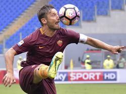 Totti möchte noch lange weitermachen