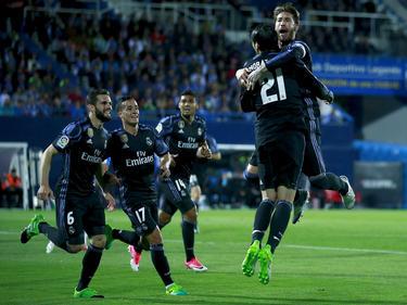 Real Madrid hat die Tabellenführung in der spanischen Liga gefestigt