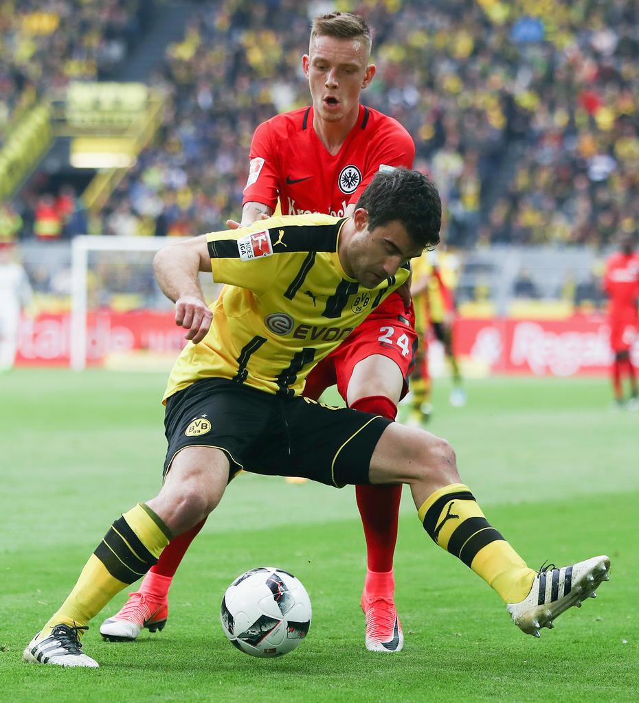 Platz 12: Sokratis (Borussia Dortmund)