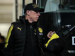 Peter Stöger feierte als Trainer des BVB ein erfolgreiches Debüt
