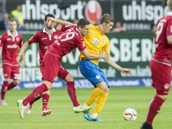 Emil Berggreen (r.) stand bisher für Eintracht Braunschweig auf dem Platz