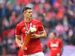 Robert Lewandowski hält die polnische Nationalmannschaft für sehr stark
