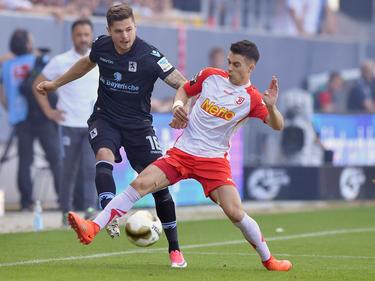 1860 München rettet im Relegations-Hinspiel ein 1:1-Unentschieden bei Jahn Regensburg