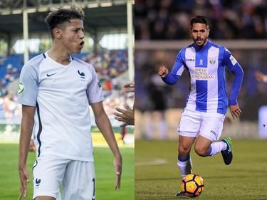 Harit (li) und Insua (r.) wollen zum FC Schalke wechseln