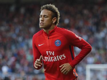 Neymar soll sich leicht am Fuß verletzt haben