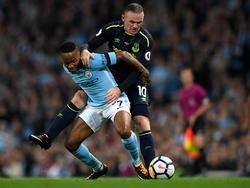 Raheem Sterling (l.) und Wayne Rooney erzielten die Tore für ihre Farben