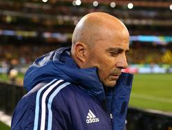 Jorge Sampaoli zittert mit Argentinien um die WM-Teilnahme