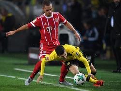 Joshua Kimmich ist selbst in Top-Spielen wie gegen den BVB gesetzt
