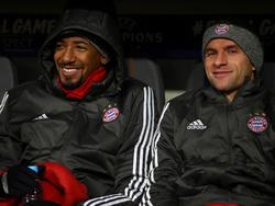 Konnte seine Reservistenrolle gegen PSG verstehen: Jérôme Boateng (l.)