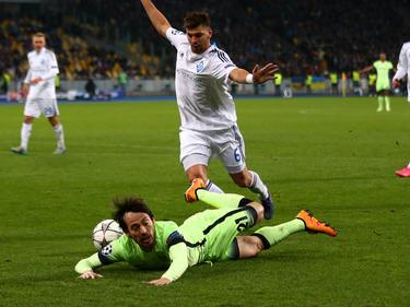 Nach der 1:3-Heimniederlage sieht es nicht gut aus für Dinamo Kiev