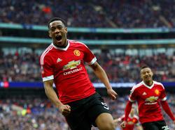 Anthony Martial gelingt der Siegtreffer in Wembley