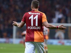 Podolski und Galatasaray haben das Hinspiel gewonnen