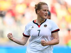 Melanie Behringer kann am Montag zur Weltfußballerin 2016 werden