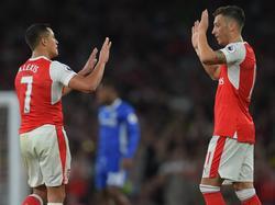 Erfolgsgaranten beim FC Arsenal: Alexis Sánchez und Mesut Özil