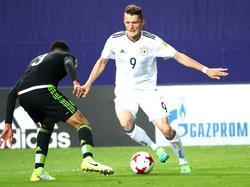 Fabian Reese erzielte für die deutsche U20 das zwischenzeitliche 2:0