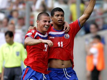 Gabriel Badilla (links im Bild) wurde nur 32 Jahre alt