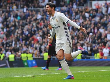Álvaro Morata netzte zum zwischenzeitlichen 1:0 für die Königlichen ein