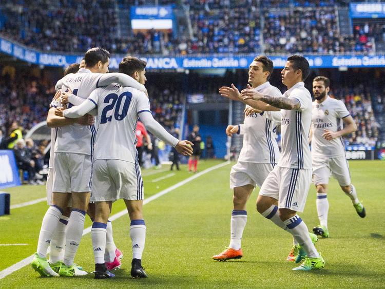 Real Madrid hatte sechsfachen Grund zur Freude