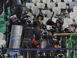 Die tunesische Polizei musste in Tunis heftig einschreiten