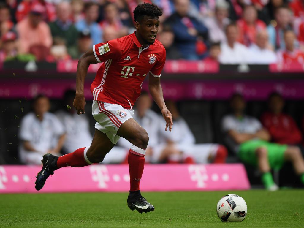 Bayern Münchens Coman: