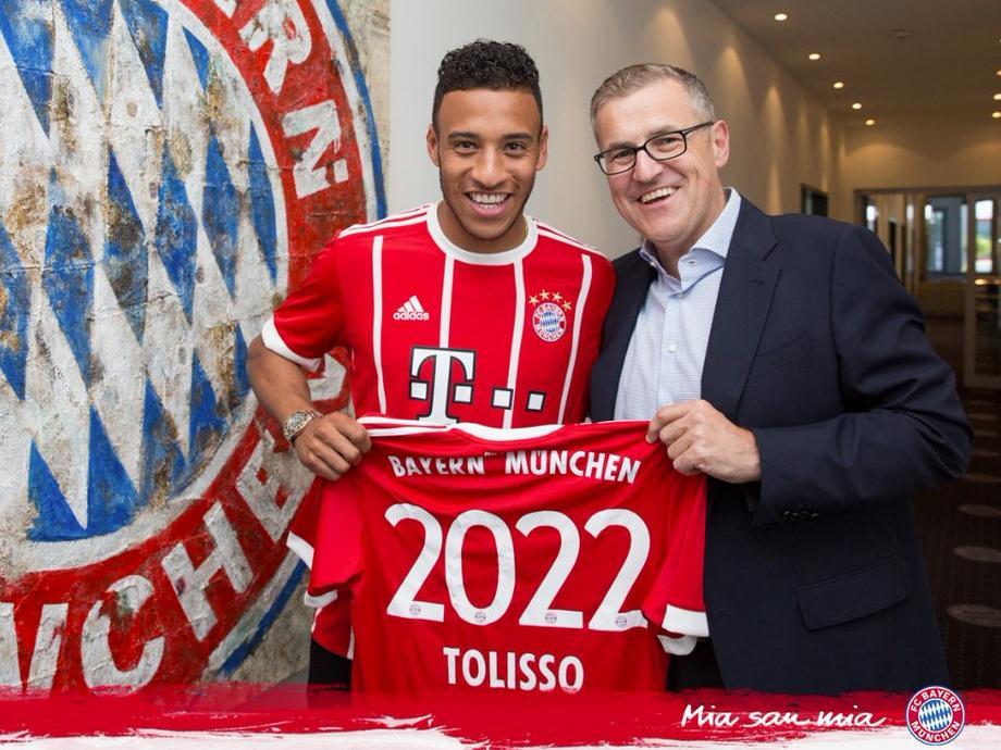 Fußball | Bayern verpflichtet Mittelfeldspieler Tolisso aus Lyon