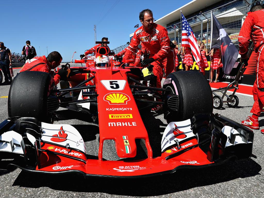 Sebastian Vettels zweiter Boxenstopp war vielleicht gar nicht geplant