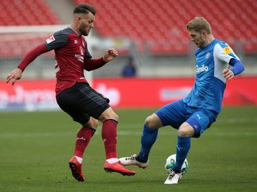 Der 1. FC Nürnberg und Holstein Kiel teilen die Punkte
