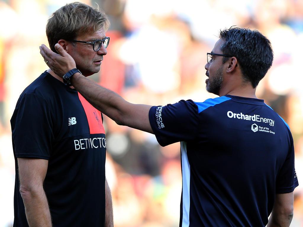 David Wagner (rechts) will in dieser Saison mit Huddersfield Town angreifen