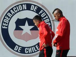 Vidal vuelve a estar disponible con Chile. (Foto: Imago)