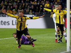 Łukasz Piszczek erzielte einen Treffer für Borussia Dortmund gegen Borussia Mönchengladbach