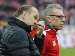 Jörg Schmadtke und Peter Stöger haben den FC in sicheres Fahrwasser geführt