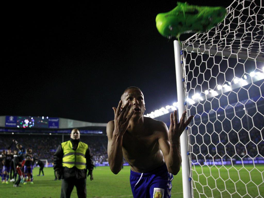 El brasileño Deyverson logró la victoria con el sexto gol de la temporada. (Foto: Getty)