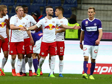 Salzburg durfte am Ende einen Kantersieg gegen die Austria bejubeln