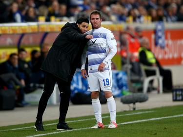 Nico Klotz fehlt dem MSV Duisburg für den Rest der Saison