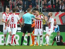 Wieder gab es mächtig Diskussionsstoff bei einem Köln-Spiel