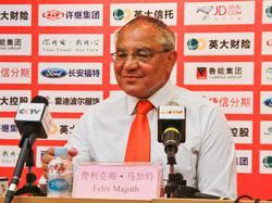 Felix Magath ist das Lachen in china inzwischen vergangen