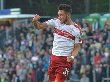 Borys Tashchy traf für den VfB zum 3:0
