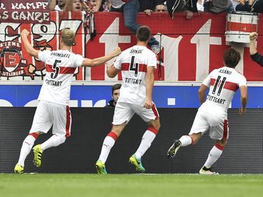 Der VfB Stuttgart gewann das Spitzenspiel gegen Braunschweig