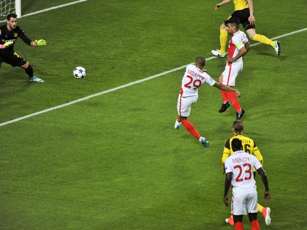 Kylian Mbappé gehörte zu den großen Matchwinnern bei AS Monaco