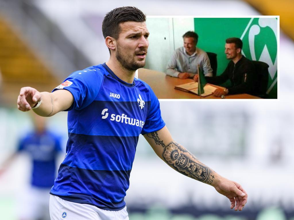 Werder verpflichtet Gondorf aus Darmstadt