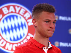 Joshua Kimmich war in der vergangenen Saison bei den Bayern frustriert